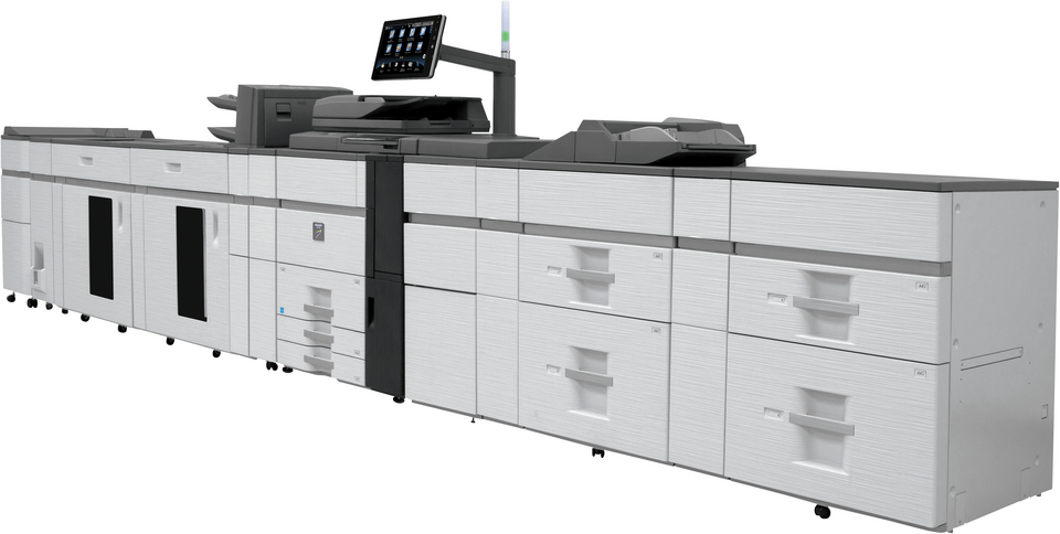 Sharp MX7090N 70 kopya A3 Renkli Üretim Baskı Makinası