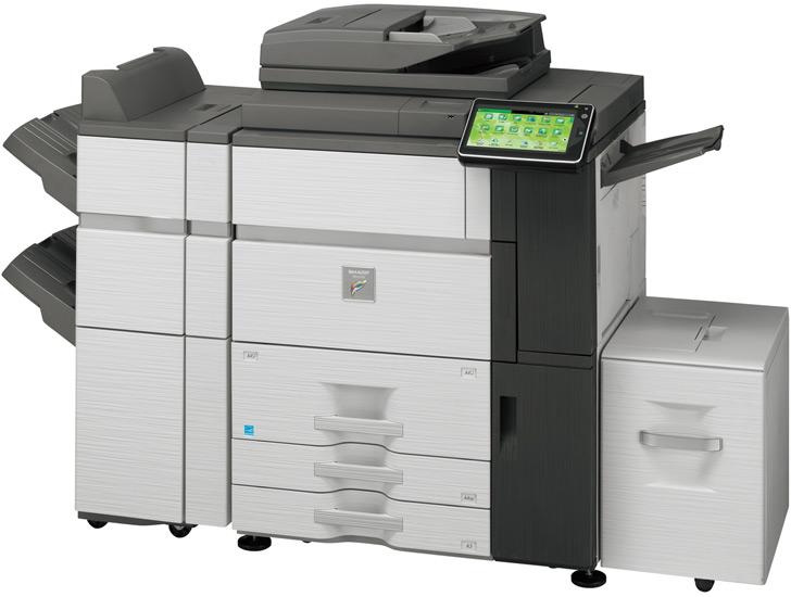 Sharp MX6240N 62 kopya A3 Renkli Fotokopi Makinası