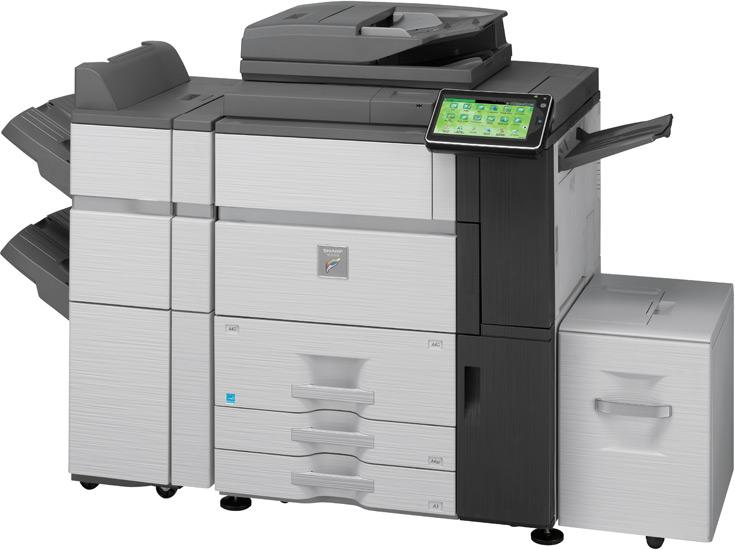Sharp MX7040N 70 kopya A3 Renkli Fotokopi Makinası