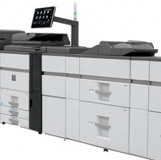 SHARP HIGH VOLUME MULTIFUNCTION PRODUCTION COPIERS, PRINTERS