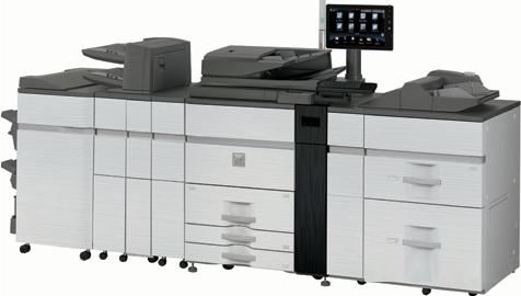 Sharp MXM1055 105 kopya A3 Siyah Profesyonel Baskı Makinası