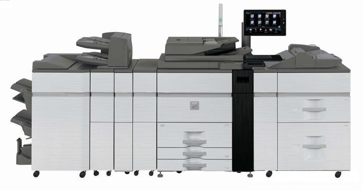 Sharp MXM1205 120 kopya A3 Siyah Beyaz Profesyonel Baskı Makinası