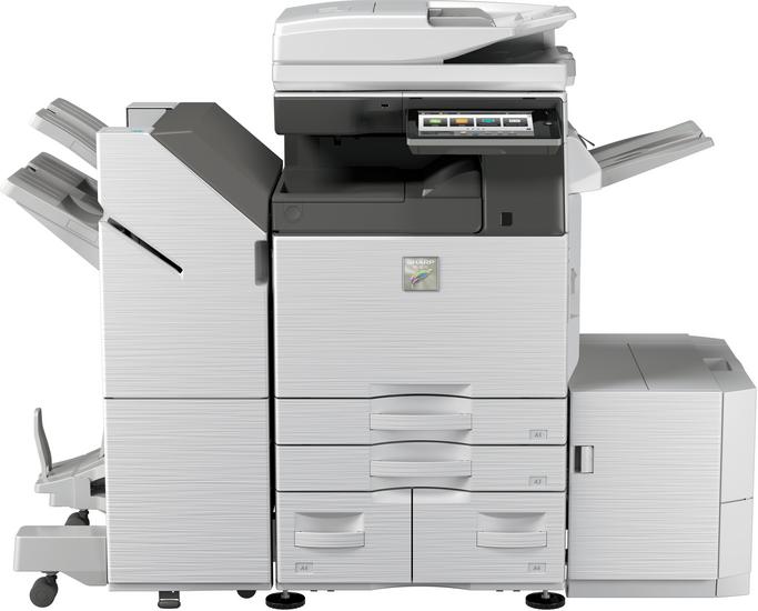 Sharp MX6050N (RSPF) 60 kopya A3 Renkli Fotokopi Makinasi