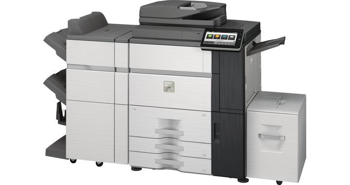 Sharp MX7580N 75 kopya A3 Renkli Fotokopi Makinası