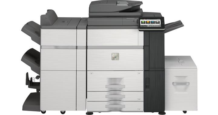 Sharp MX6580N 65 kopya A3 Renkli Fotokopi Makinası