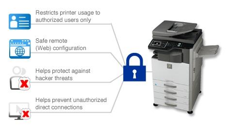 Sharp ile Yazıcı alt yapınızı kartlı sisteme terfi ettirin - Sharp Fotokopi ve yazıcılarla güvenli baskı çözümleri